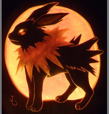 Pumpkin Carving Patterns for Pokemon Fans, Pumpkin Seeds Not Included - Photo - TechEBlog