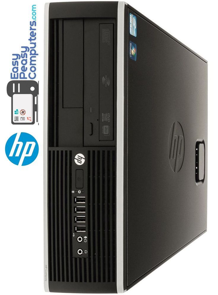 HP Desktop Computer PC Windows 10 WiFi 4GB 500GB DVD Burner (FULLY LOADED) #HP #computer #computers