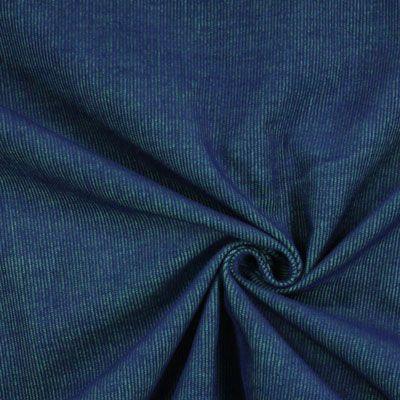 465 Kč/m Washed Corduroy 2 - Polyester - Bavlna - královská modr
