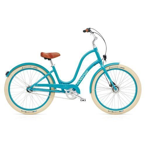 Electra-Townie-Balloon-3i-EQ-Azure-Blau-Ladies-Cruiser-Fahrrad-Beachcruiser