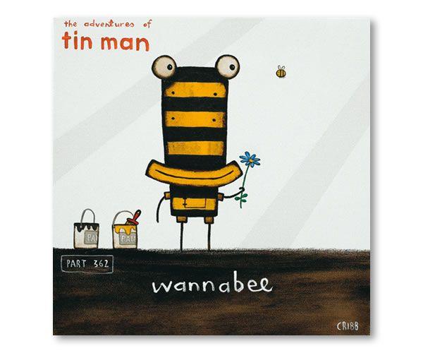 Wannabee by Tony Cribb - prints