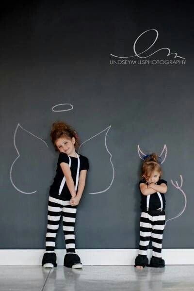 Angel/Devil kid pic