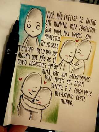 -Desenhos de um garoto solitário
