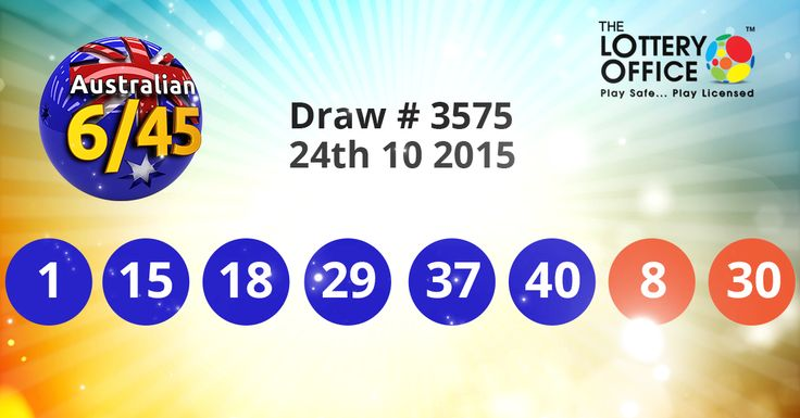 $660000 Aus Saturday Lotto winning numbers result is here: #LotteryResults #LotteryOffice https://lotteryoffice.com/adclick?campaignId=65