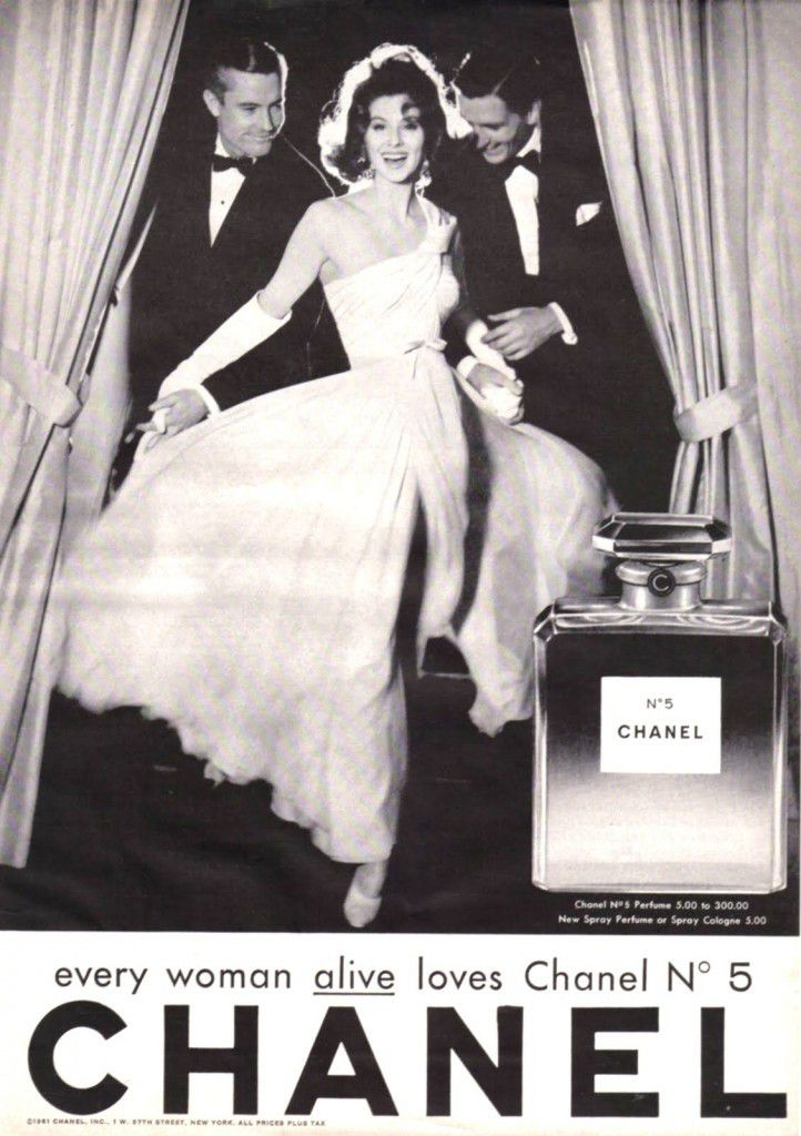 The 11 Most Iconic Vintage Chanel No. 5 Ads | StyleCaster