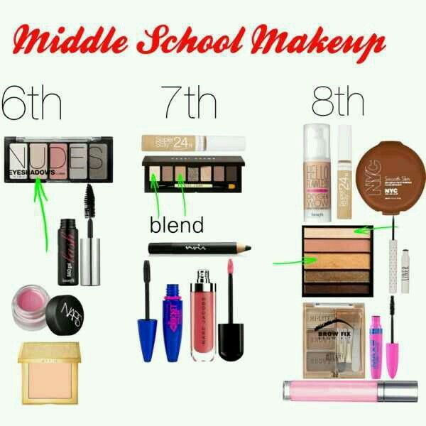 Makeup for Junior High School