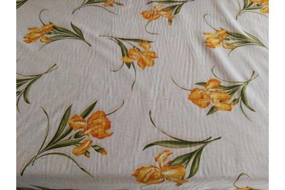 Loneta estampada de flores amarillas, empleada para diversas labores como cortinas, estores, tapizado de sofás, fundas para cojines..., tela con cuerpo, gruesa y resistente. Fácil lavado y planchado.#loneta #estampado #flores #amarillo #labores #tapizado #estores #sofás #cojines #confección #manteles #disfraces #medieval #carnaval #resistente #tela #telas #tejido #tejidos #textil #telasseñora #telasniños #comprar #online #comprartelas #compraronline
