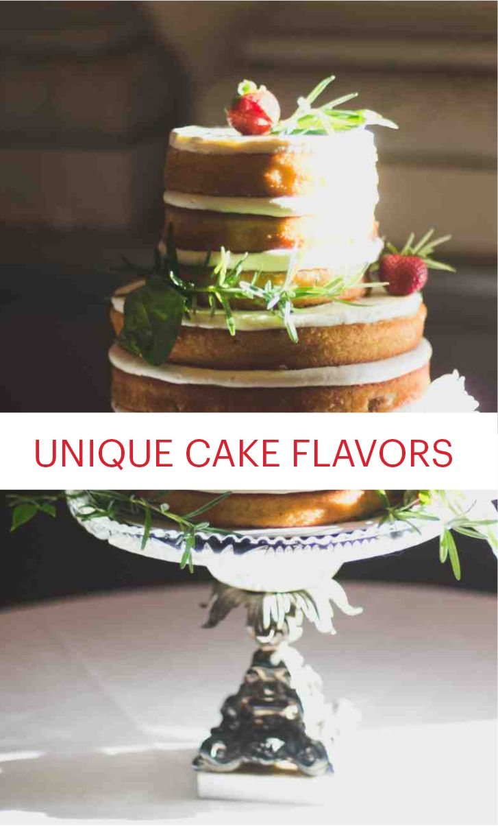 8 Wedding Cake Flavors You Haven't Tried Yet | Martha Stewart Weddings - Chocolate and vanilla wedding cakes will always be classics, but creative cake flavors bring the fun and the flavor. Here, Nima Etemadi and Lily Fischer of Cake Life Bake Shop, and Erica O'Brien of Erica O'Brien Cake Design, share eight out-of-the-box cake flavors that will satisfy you and your guests!