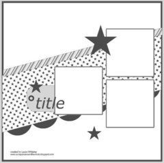 Find new layout sketches in the Scrapbook.com Sketch Gallery.