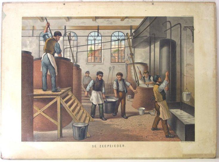 De zeepzieder-Het koken en maken van zeep.(Scheepstra en Walstra) .