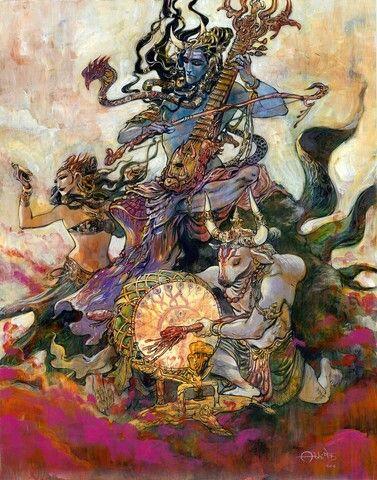 Shiva . visit abhishekartstore.com