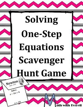 Great activity   My students love moving around   The mathematician component leads to great conversations