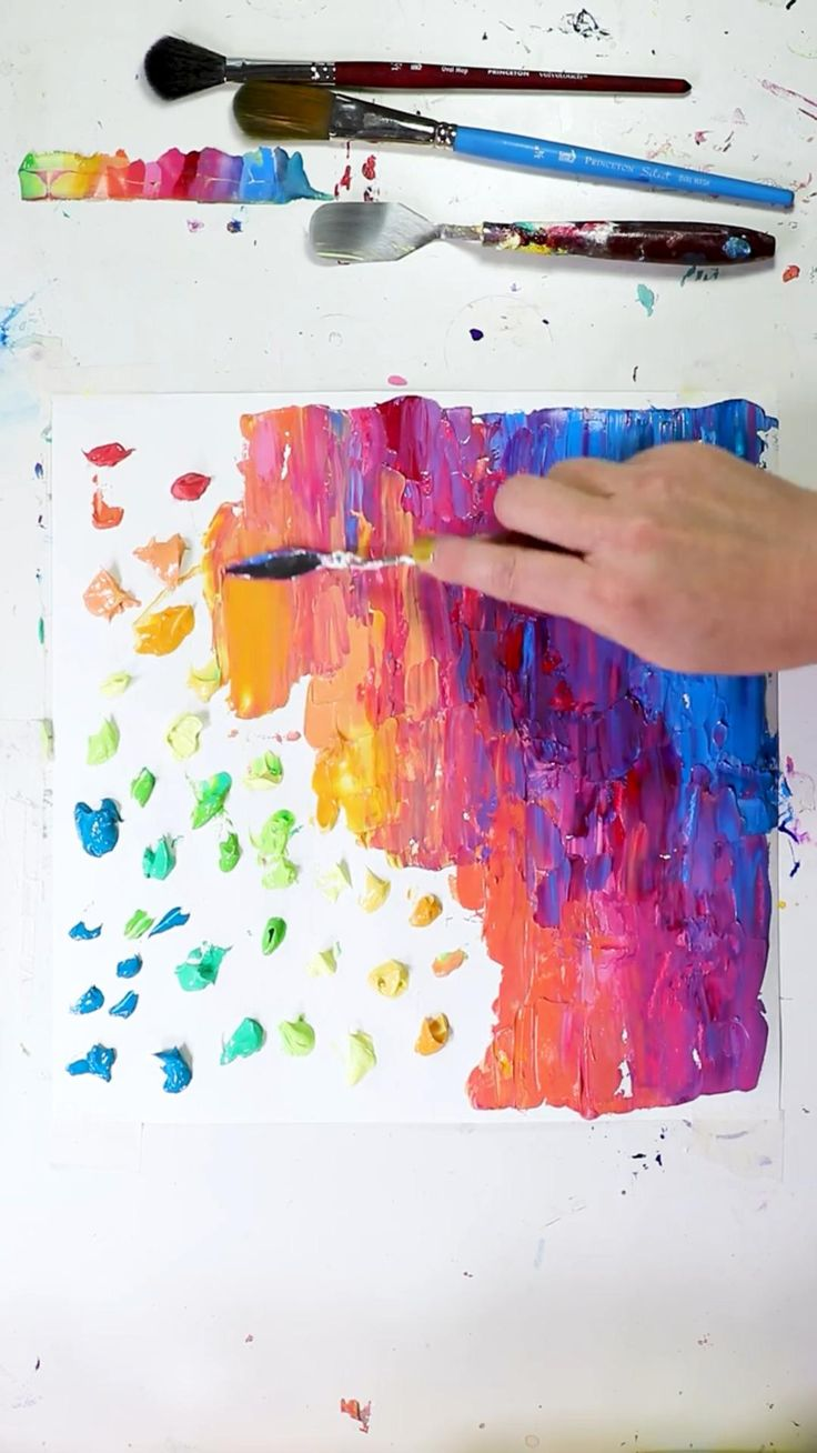 Canvas And Cocktails, Cool Art Projects, Diy Canvas Art, Art Techniques, Diy Art, Art Lessons, Painting & Drawing, Amazing Art, Art Drawings