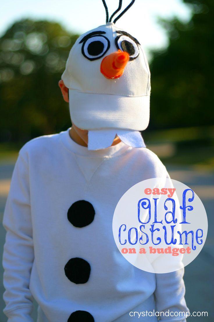 The 25 best olaf costume ideas on pinterest diy olaf costume easy diy olaf costume for kids budget friendly too inexpensive olaf halloween costume solutioingenieria Images