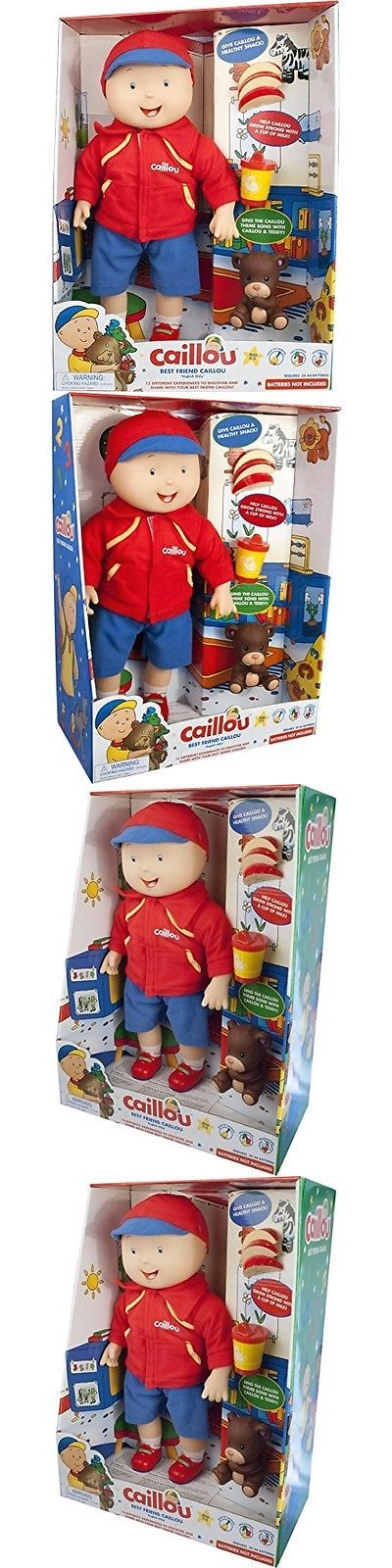 Caillou 20903: Caillou Best Friend, Electronic Doll -> BUY IT NOW ONLY: $85.79 on eBay!