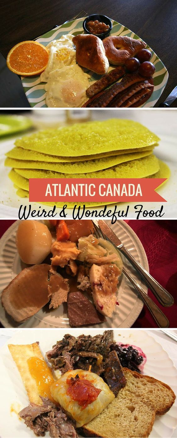 Weird and wonderful food of Atlantic Canada