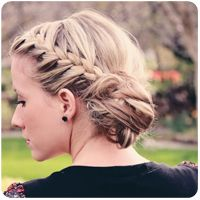 This would be great for school.  Twist me pretty gallery has tons of hair tutorials