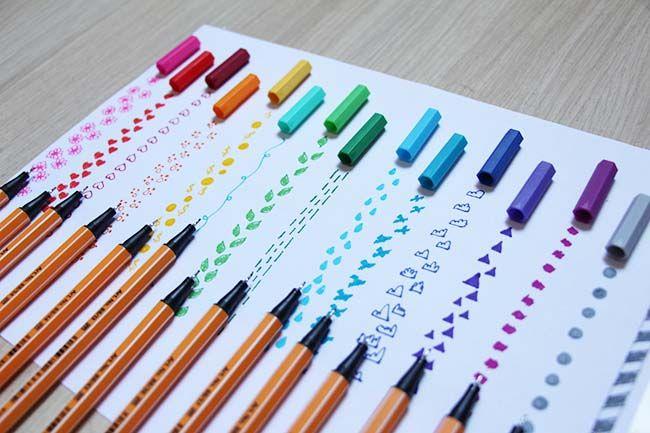 canetas stabilo