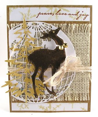 Suzz's Stamping Spot, Funkie Junkie Tags, Week #10, Anything But Cute, Rustic Glam, Deer, Holiday,