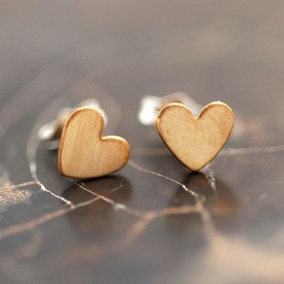 Earrings, very simple and cute.
