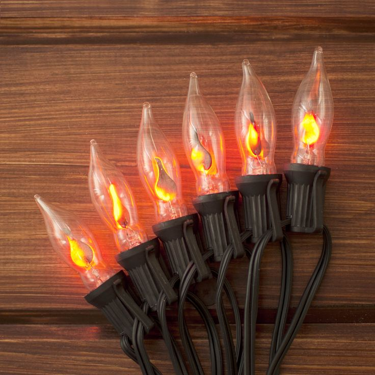 Led Landscape Lights Flickering: Our Flickering Flame String Lights Add A Realistic Glow To