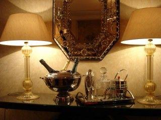 Murano glass lamps