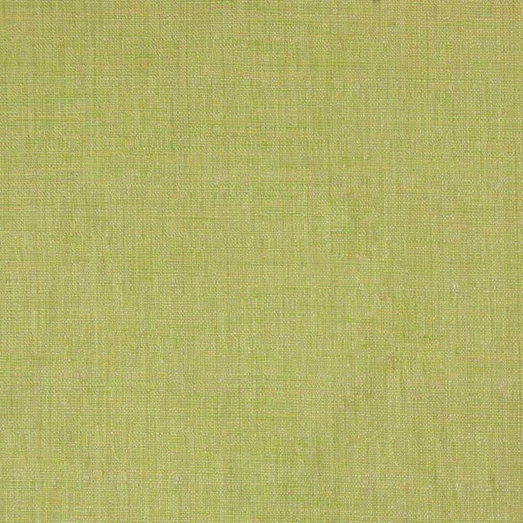 Tiamo Plain Linen Look Curtain Fabric 47 Lime 140cm