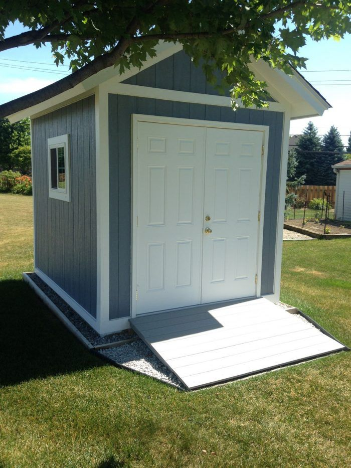 Backyard storage shed :http://countrylifeprojects.com/our-viewers-projects/backyard-storage-shed/