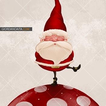 Ho verificato su Santa Claus on fungus su Lish, € 8,00