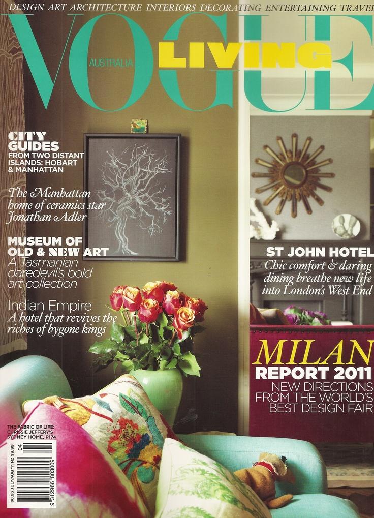 Chrissie's apartment, Vogue Living 2011