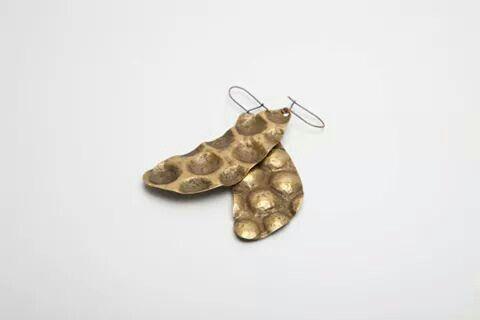 aronn#jewelry#earring#brass#art#design#handmade#aron nagybaczoni#