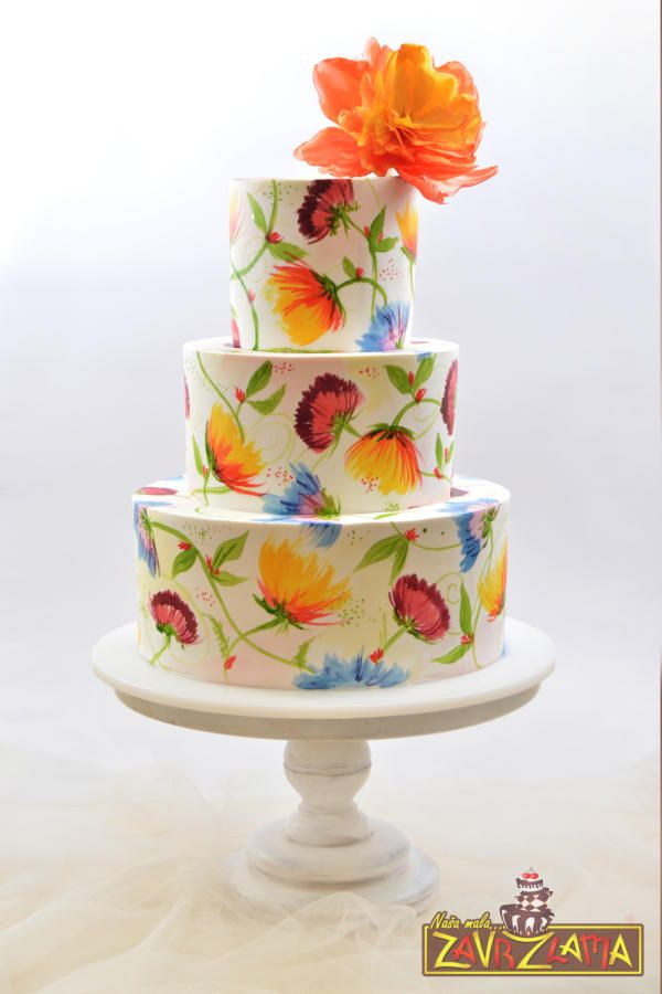... about decorating cake on Pinterest | Cupcake, Cupcake cakes and Cakes