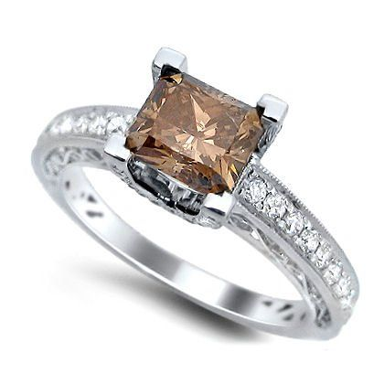 Amazing Best Brown Diamond Engagement Rings Ever