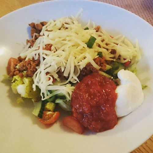 Dinner today is tacosalad  Easy and yummie  #ketogenicdiet #ketose #lchftjejer #lchfinspiration #lchf #lchfklubben #lchfmat #lchfdk #lchfnorway #lavkarbo #lavkarbomat #lavkarbonorge #healtyfood #foodpics #instalike #instafood #picoftheday #photooftheday #instalchf #lovefood #loveit #ketofitcook #lchfnorge #ketolife #ketolifestyle #f4fs - Inspirational and Motivational Ketogenic Diet Pins - Eat Keto Get Into Nutritional Ketosis - Discover LCHF to Prevent Diseases - Enjoy Low-Carb High-Fat…
