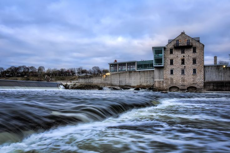 Excellent food and a wonderful atmosphere, the Cambridge Mill is right along the Grand River in Cambridge.