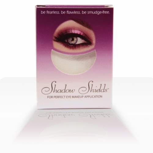 30 Shadow Shields Eye Shadow Protectors Shadow Shields is a new and clever product which protects the under eye area from eye shadow fallout.To apply - gently place the shield below the eye and secure with the gentle self adh…