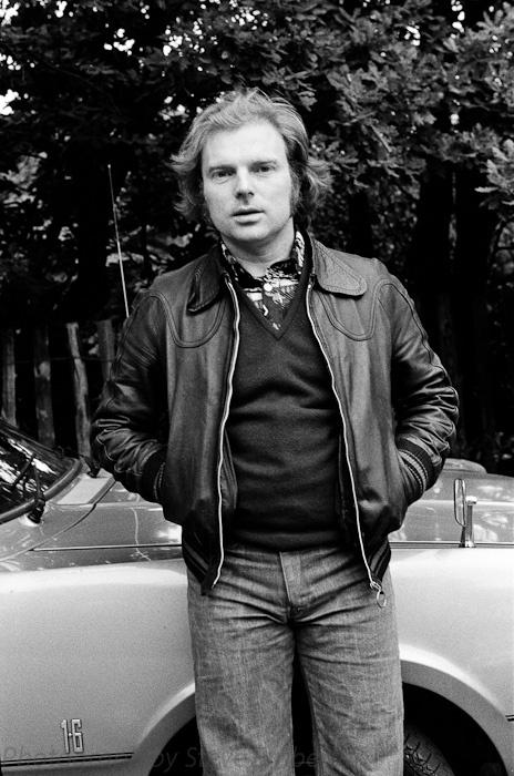 A young Van Morrison ...