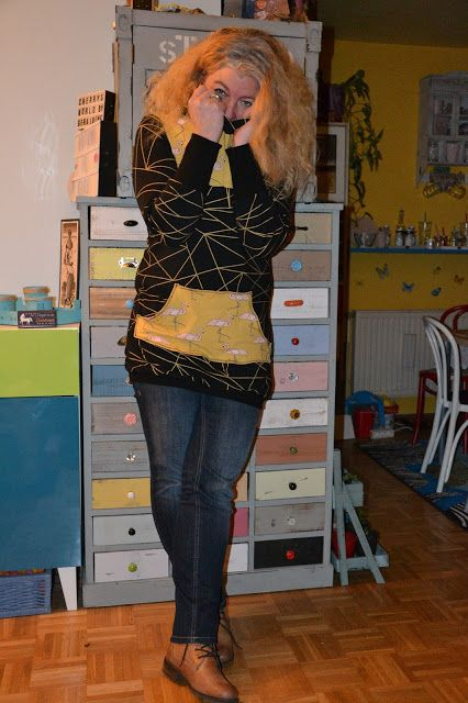 CheRRy's World by Geraldine - 12 Colours of handmade Fashion - Dezember