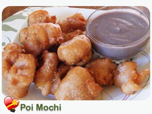 Poi Mochi Recipe - ILoveHawaiianFoodRecipes