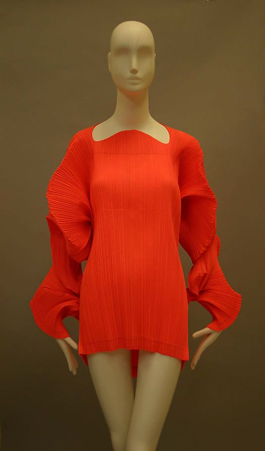 Issey Miyake 1991 Met Collection
