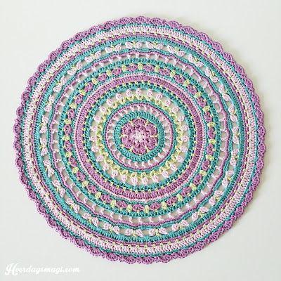HVERDAGSMAGI: Springtime Magic Mandala