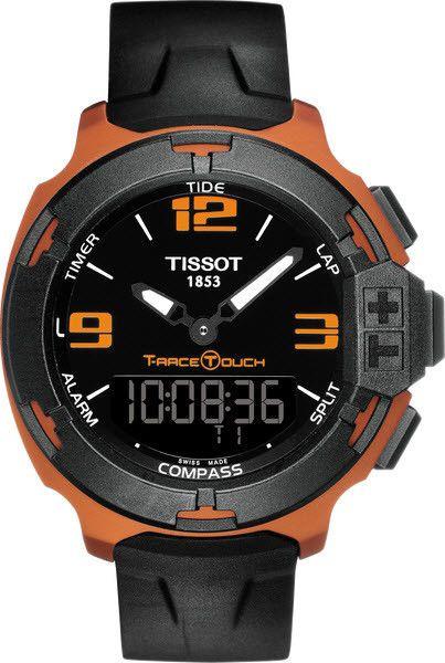 Tissot Watch T-Race Touch Aluminium #alarm-yes #bezel-fixed…