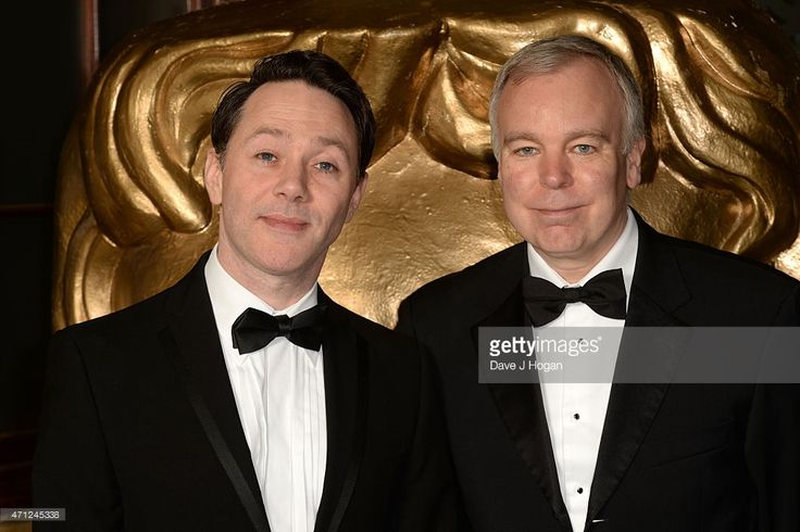 Reece Shearsmith and Steve Pemberton arrives for the BAFTA TV Craft Awards, at The Brewery on April 26, 2015 in London, England.