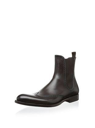 Antonio Maurizi Men's 7344 Wingtip Chelsea Boot (T.moro)