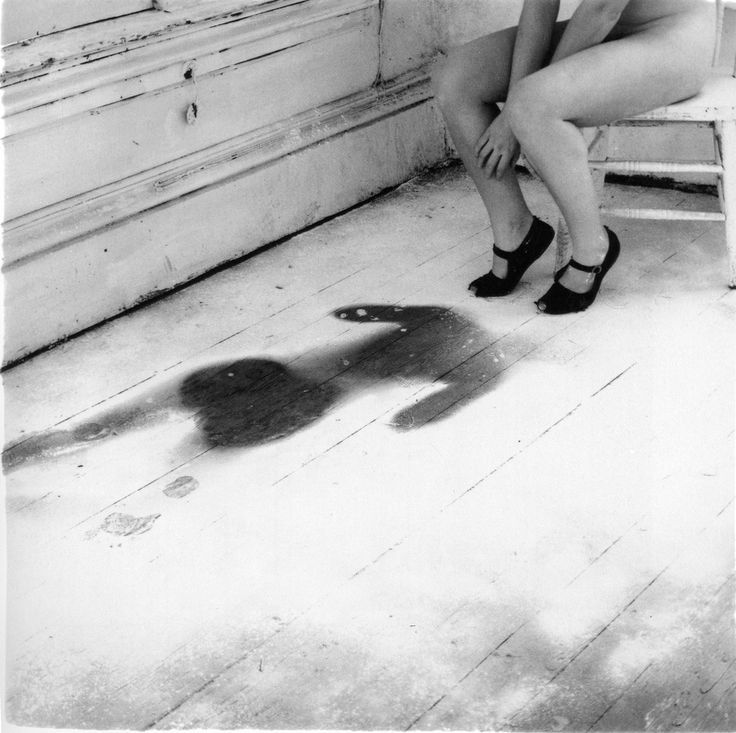 """I exist in two places, here and where you are."" Photo by Francesca Woodman. °"