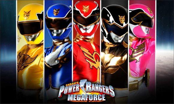 Painel Power Rangers G - Frete Grátis