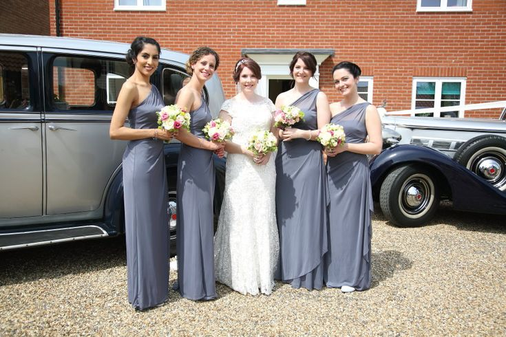 bride and her bridesmaids, Clare wedding photography