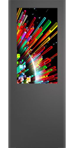 """Chumash Totem Touch Screen da 32"""" 47"""" 55"""" 65"""" 75"""" Verticale Outdoor"""