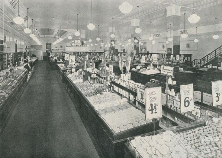 New Bourke Street Coles Store, Melbourne, 1934