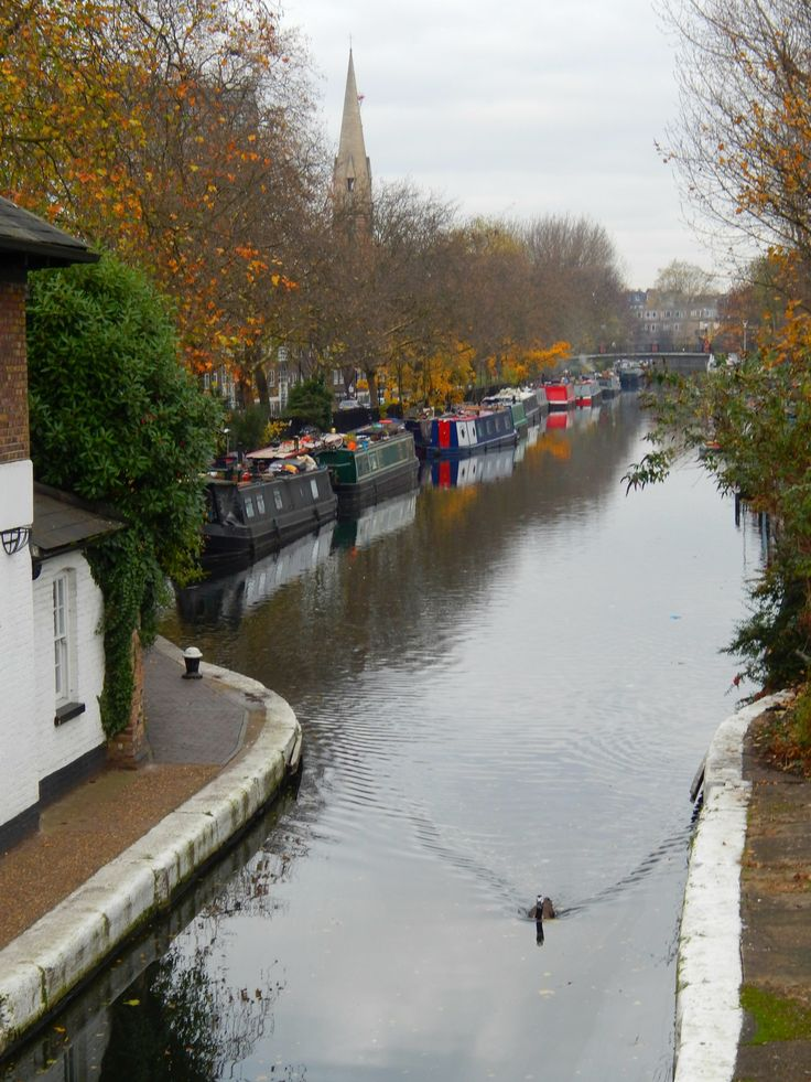 Little Venice, Paddington, London, W9